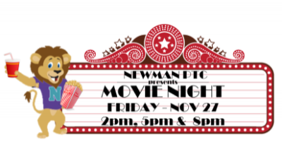 Register for the Newman PTC Movie Event - 11/27